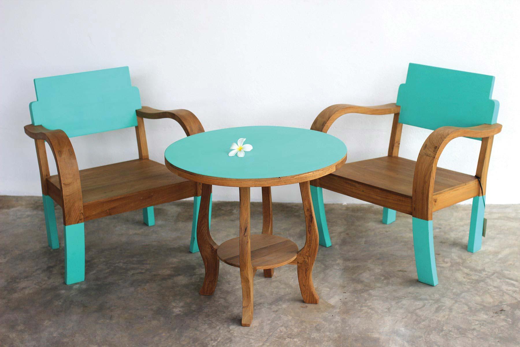 BLOCKCOLOR – Armchair and Table 2