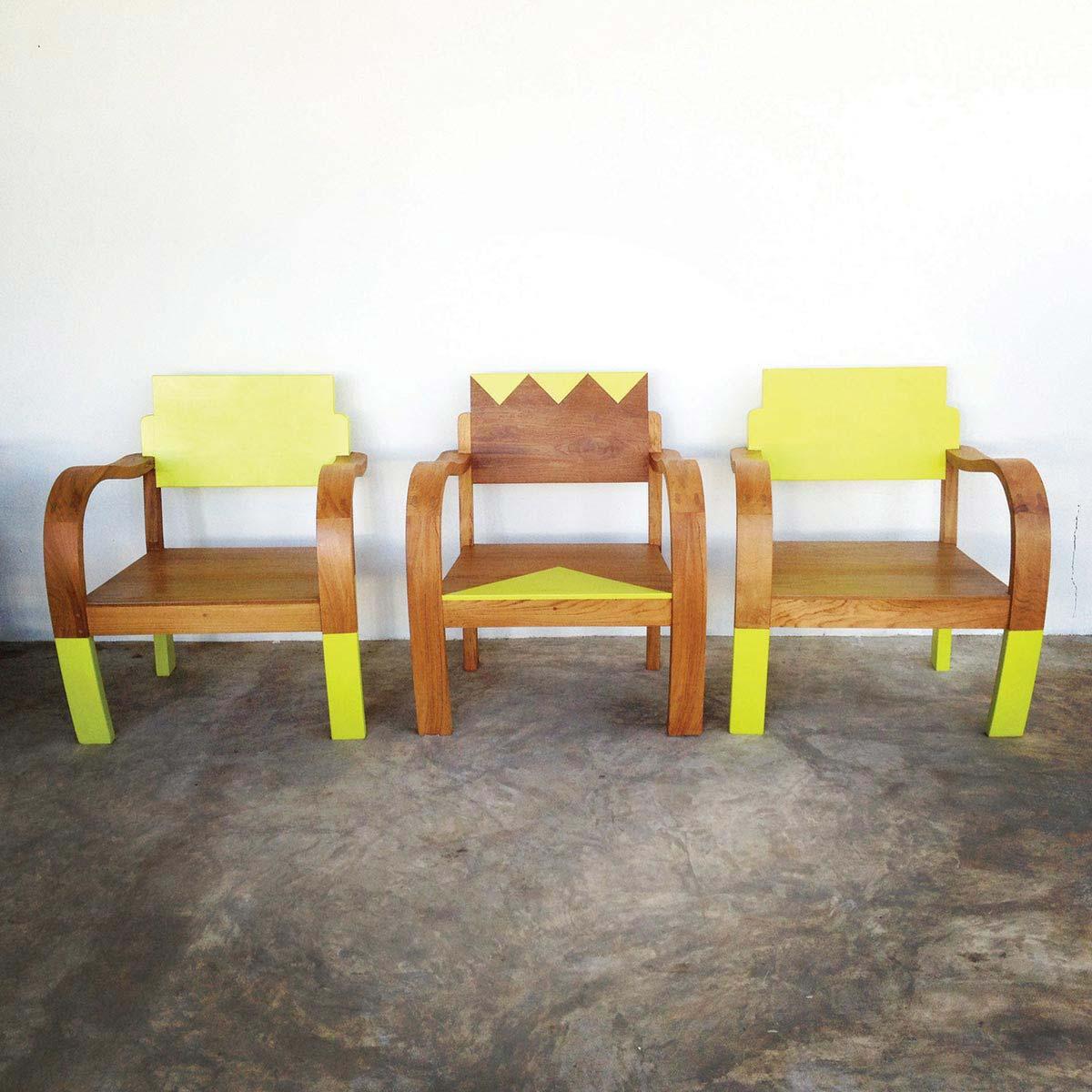 GRAPHIK + BLOCKCOLOR Armchairs