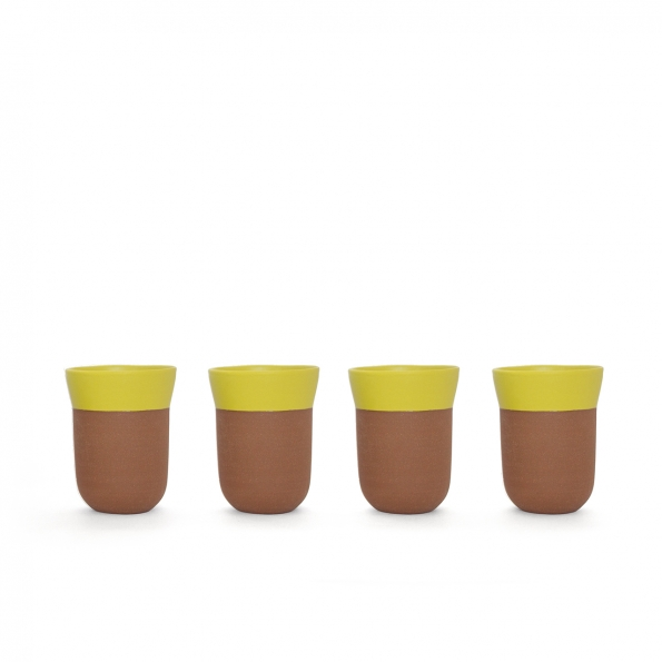 TCHAA Cup – Set of 4 Lemon