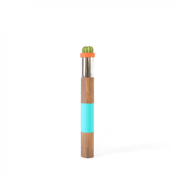 TOTEM Serie Teak Turquoise – Small